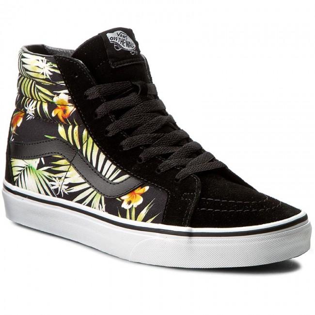 c04155efa2f2f6 Sneakers VANS - Sk8-Hi Reissue VN0A2XSBMLD (Decay Palms) Black True ...