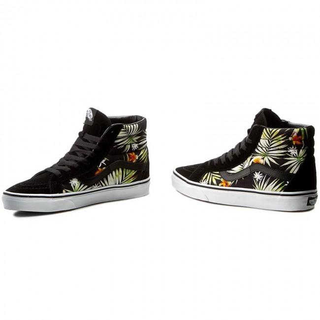 34896025cb Sneakers VANS - Sk8-Hi Reissue VN0A2XSBMLD (Decay Palms) Black True ...
