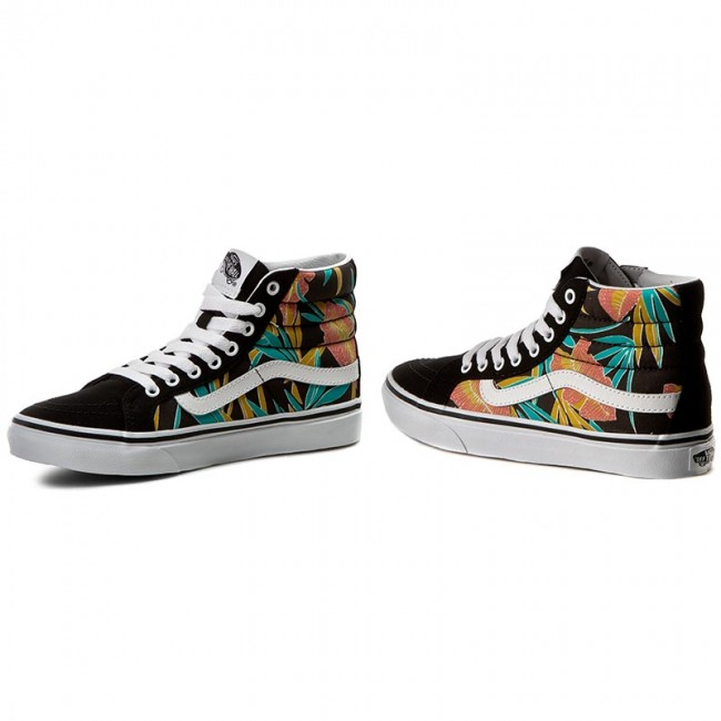 f536d5bc1d Sneakers VANS - Sk8-Hi Slim VN0A32R2MQL (Tropical Leaves) Black ...