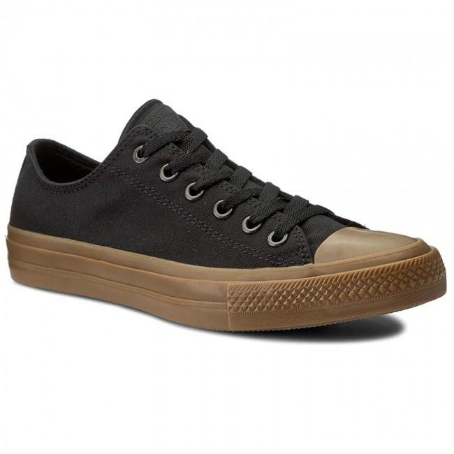 85ede36baf771 Sneakers CONVERSE - Ctas II Ox 155501C Black Black Gum - Plimsolls ...