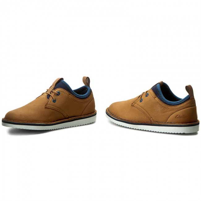 a768dcb3c7b Shoes CLARKS - Oscar Maze Inf 261239507 Tan Leather - Slided shoes ...