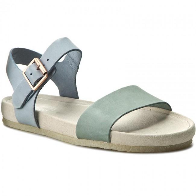 06d9791e8942 Sandals CLARKS - Dusty Soul 261233564 Pastel Blue - Casual sandals ...
