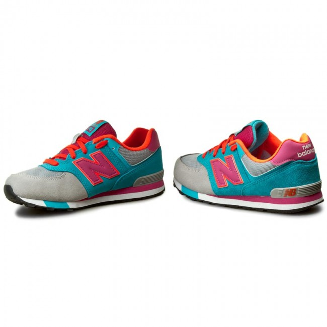 Sneakers NEW BALANCE - KL574WTG Blue Colourful