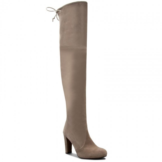 3190f6f12a3 Over-Knee Boots STUART WEITZMAN - Highland Topo Suede - Musketeer ...