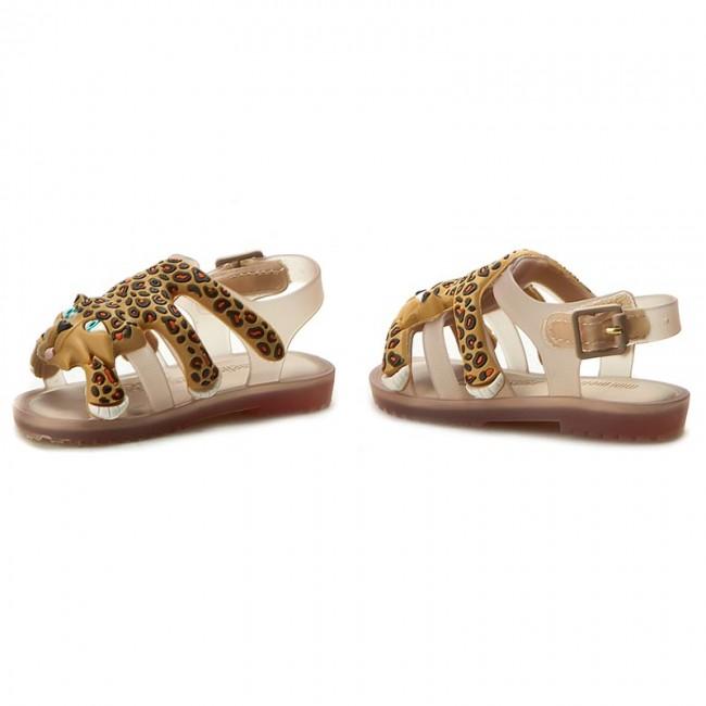 e2d577797b0 Sandals MELISSA - Mini Melissa Flox+Jeremy Scott 31933 Beige Yellow 51516