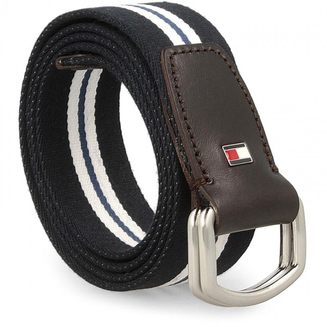 0558f20841 Men s Belt TOMMY HILFIGER - Th Stp Webbing Belt 3.5 AM0AM01933 90 ...