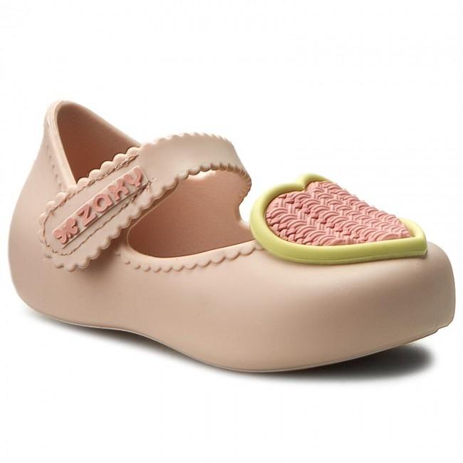 572c54741b Shoes ZAXY - Pets Baby 82058 Beige 01276 - Velcro - Low shoes - Girl ...