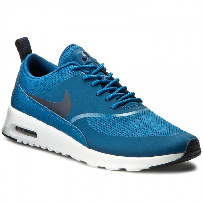 dfa4ff3a14e9 Shoes NIKE - Air Max Thea 599409 415 Industrial Blue Obsidian White ...