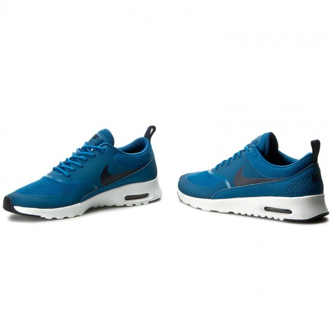 best service 17925 af15c Shoes NIKE - Air Max Thea 599409 415 Industrial Blue/Obsidian/White ...