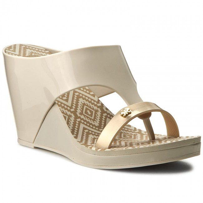 ce47df70a9 Slides ZAXY - Glamour Top III Fem 81976 Beige 24306 - Flip-flops ...