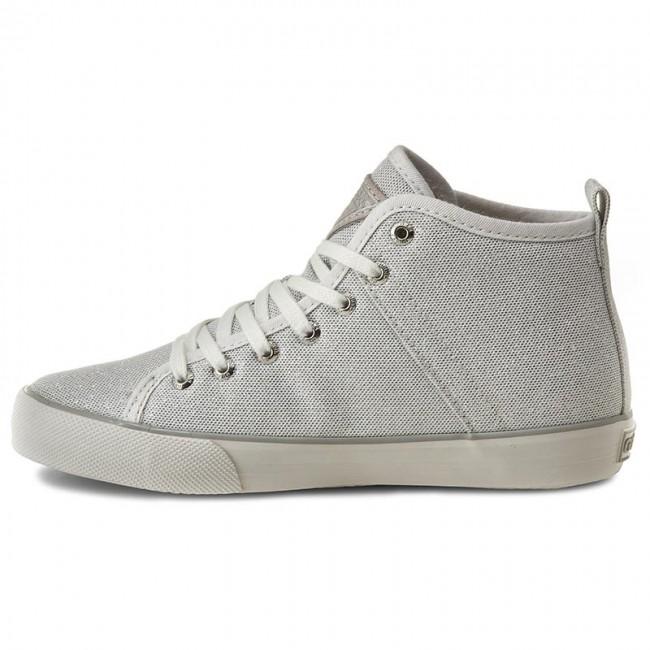 Sneakers GUESS Joel FLOEL1 FAM12 SILVE