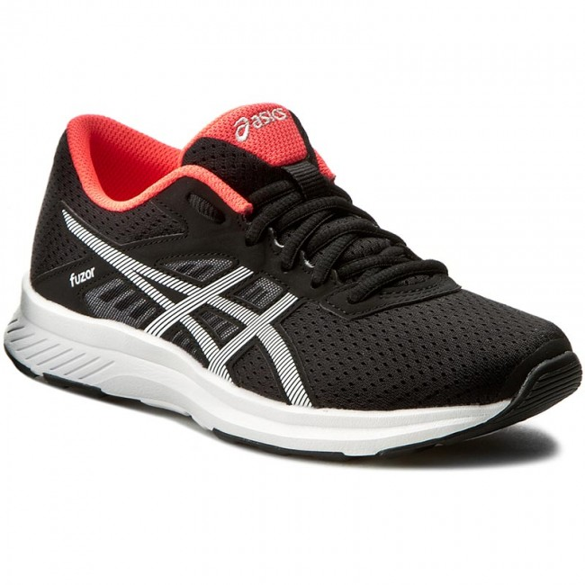 Shoes ASICS  Fuzor T6H9N BlackSnowDiva Pink 9000  Indoor  Running shoes  Sports shoes  Womens shoes       0000199352218