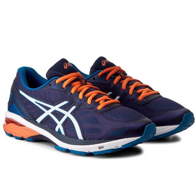 Shoes ASICS - Gt-1000 5 T6A3N Indigo Blue Snow Hot Orange 4900 - Indoor -  Running shoes - Sports shoes - Men s shoes - www.efootwear.eu 682106475971c