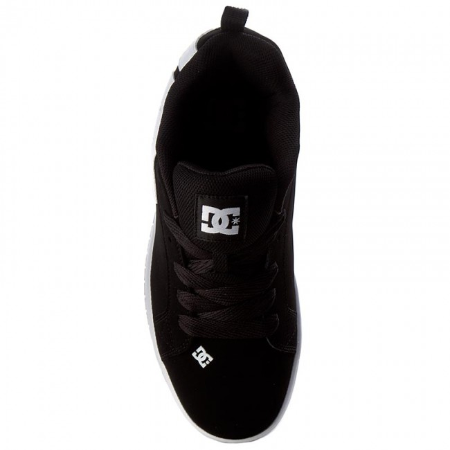 Details about  /DC Court Graffik 300529 Mens Black Nubuck Skate Inspired Sneakers Shoes