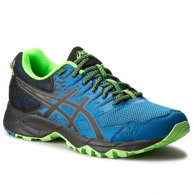 Shoes ASICS - Gel-Sonoma 3 T724N Thunder Blue/Black/Green Gecko 4990