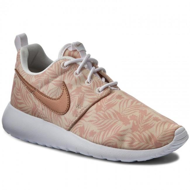 6450bfb26c276 Shoes NIKE - Roshe One Print (Gs) 677784 200 Prl White Mtlc Rd Brnz ...