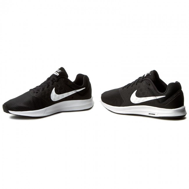 Tiza Permanecer Ocurrencia  Shoes NIKE - Downshifter 7 852459 002 Black/White - Indoor - Running shoes  - Sports shoes - Men's shoes | efootwear.eu