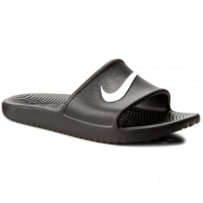 955887b59cf6 Slides NIKE - Kawa Shower 832528 001 Black White - Clogs and mules ...