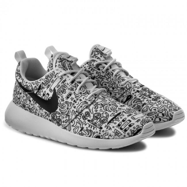 sprzedaż usa online gorąca wyprzedaż tanie z rabatem Shoes NIKE - Wmns Nike Roshe One Print Prem 749986 100 White/Black
