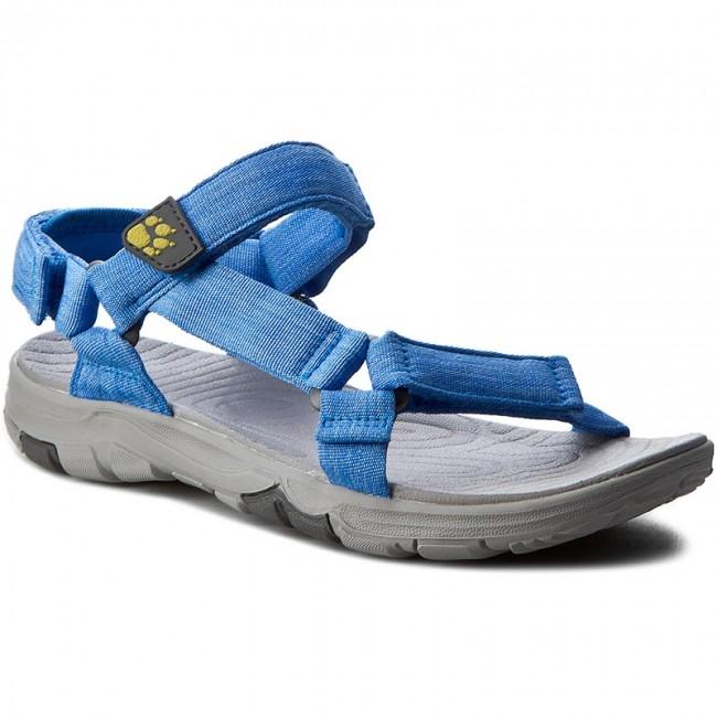 Womens Seven Seas 2 W Sports Sandals, Wave Blue, 4 Jack Wolfskin