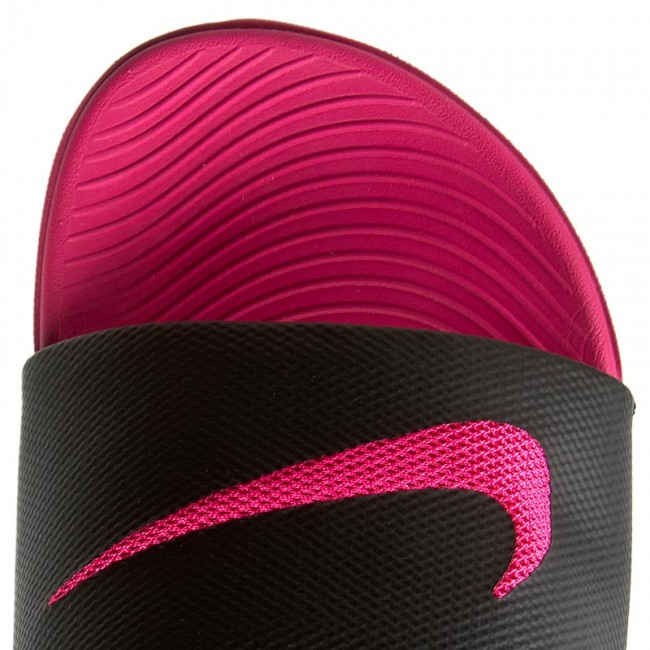 9874e5a472a59 Slides NIKE - Kawa Slide (Gs Ps) 819353 001 Black Vivid Pink - Casual mules  - Mules - Mules and sandals - Women s shoes - www.efootwear.eu