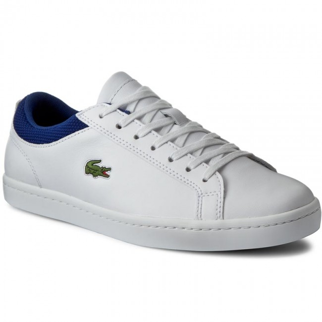 83e3a01c694ae Sneakers LACOSTE - Straightset Sp 117 2 7-33CAM1026X96 Wht Dk Blu ...