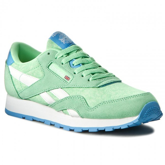 Reebok Classic Nylon MU shoes green
