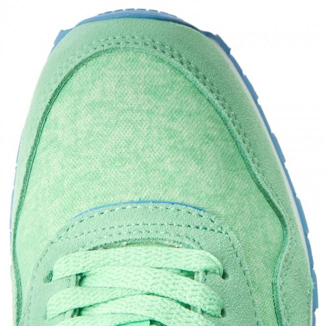 4f40a276621c Shoes Reebok - Cl Nylon Washed BD3858 Green Blue White - Sneakers - Low  shoes - Women s shoes - www.efootwear.eu