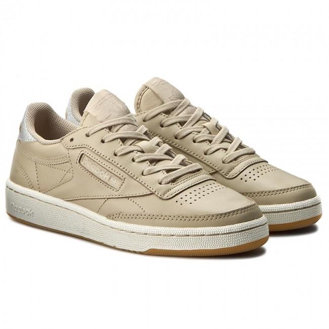 a1f3d4f7bcfd0 Shoes Reebok - Club C 85 Diamond BD4426 Oatmeal Chalk Gum - Sneakers - Low  shoes - Women s shoes - www.efootwear.eu