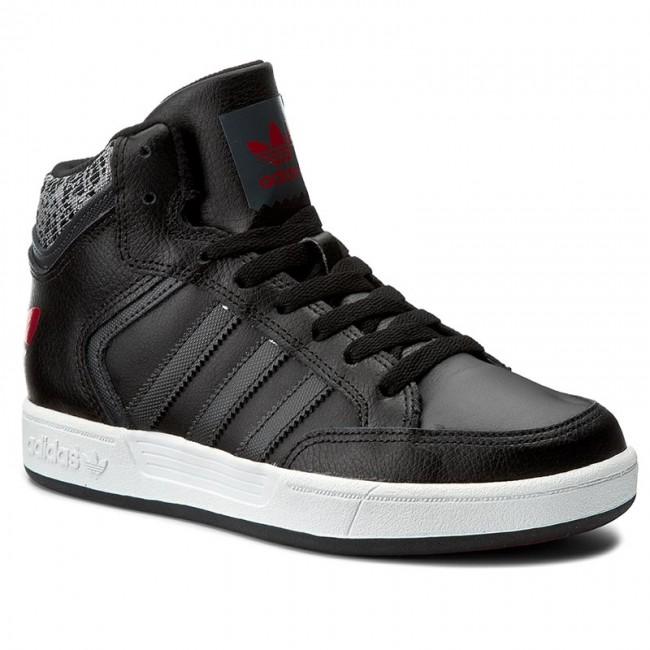 scarpe adidas varial metà bb8768 cblack / dgsogr / scarle scarpe