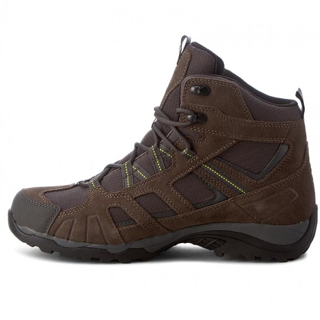 d16dbff92ea Trekker Boots JACK WOLFSKIN - Vojo Hike Mid Texapore Men 4011361 Flashing  Green