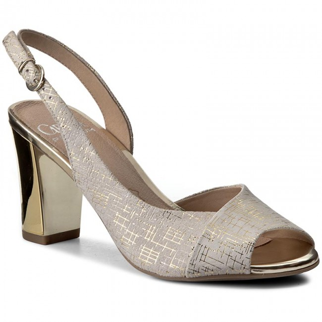 Sandals CAPRICE - 9-28304-28 Offwhite Multi 114