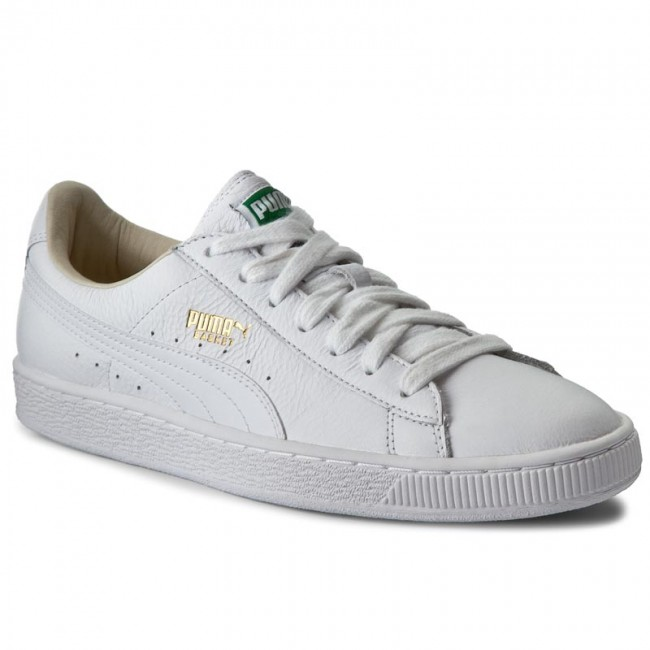 Sneakers PUMA - Basket Classic Lfs 354367 17 White White - Sneakers ... 56d5765f0