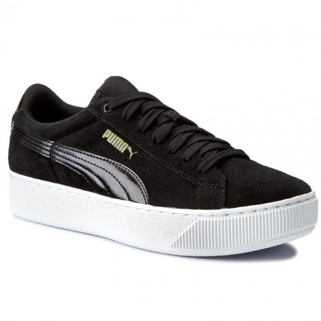 7a025647bf5 Sneakers PUMA - Vikky Platform 363287 05 Puma Black Puma White ...