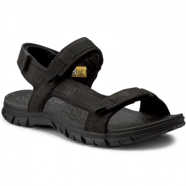 ac366f7ac206 Sandals CATERPILLAR - Atchison P721278 Black - Sandals - Mules and ...