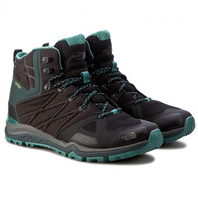 aa008a8da Trekker Boots THE NORTH FACE - Ultra Fastpack II Mid Gtx GORE-TEX T0CDM5NMU  Tnf Black/Deep Sea