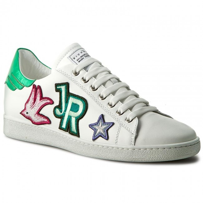 Richmond D Low Shoes John Sneakers Bianco 2632 OXPkZui