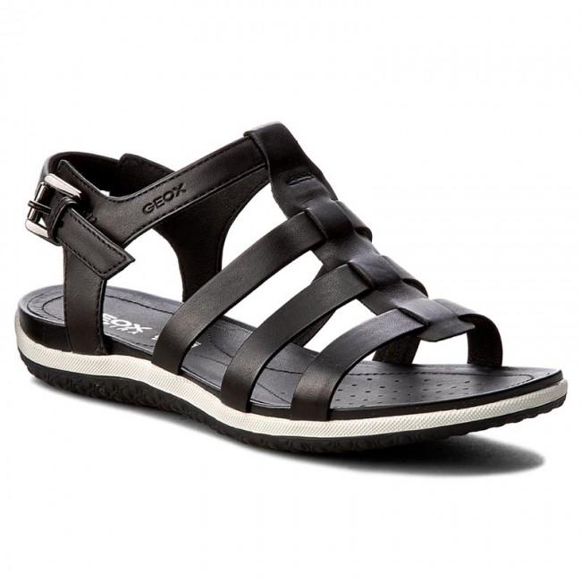 1f1eab49197362 Sandals GEOX - D Sand. Vega A D72R6A 00043 C9999 Black - Casual ...
