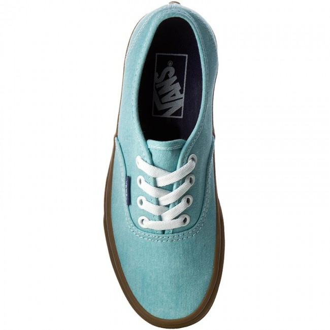 20b6b0002c Plimsolls VANS - Authentic VN0A38EMMQR (Washed Canvas) Blue Radiance Gum -  Sneakers - Low shoes - Women s shoes - www.efootwear.eu