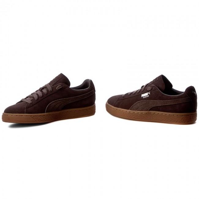 bc231e56fe6 Sneakers PUMA - Suede Classic Citi 362551 01 Black Coffee - Sneakers ...