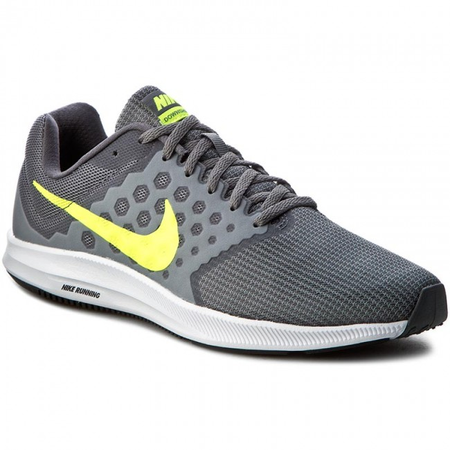 5e433c0a84700 Shoes NIKE - Downshifter 7 852459 004 Cool Grey Volt Dark Grey White ...