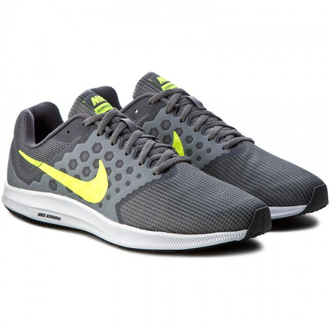 4e2561d556399 Shoes NIKE - Downshifter 7 852459 004 Cool Grey Volt Dark Grey White ...