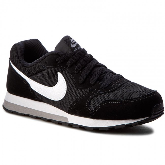 6ae6d2f6fe2f0 Shoes NIKE - Md Runner 2 (GS) 807316 001 Black White Wolf Grey ...