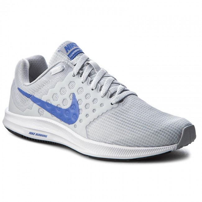 Shoes NIKE - Downshifter 7 852466 002 Pure Platinum Medium Blue ... cf2aed1e6bd