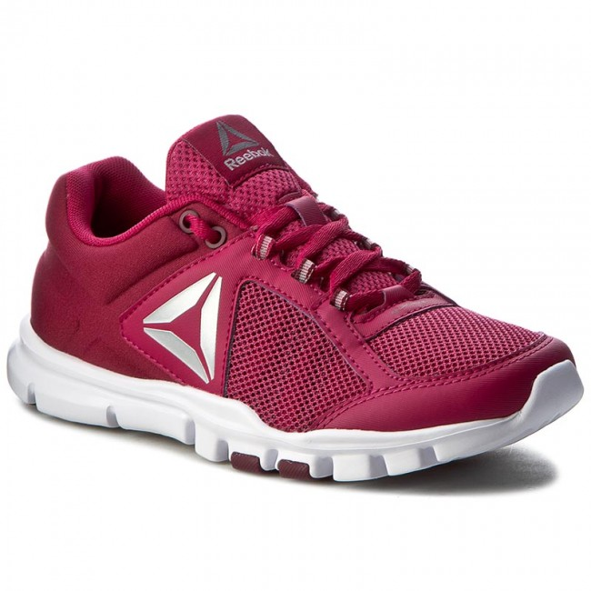 reebok yourflex trainette. shoes reebok - yourflex trainette 9.0 mt bd5550 cherry/wine/wht/slvr/