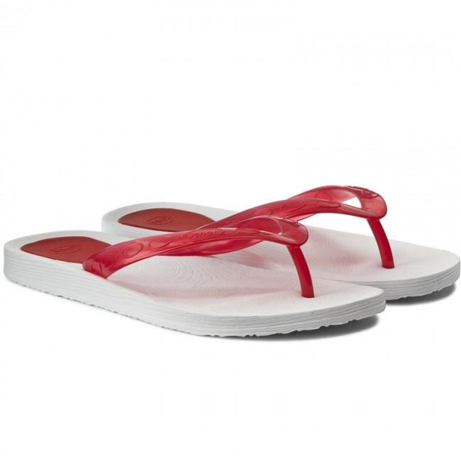 3fe56df12 Slides SCHOLL - Gelly F25596 1726 370 Cherry White - Flip-flops ...
