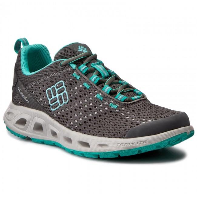 Trekker Boots COLUMBIA - Drainmaker III BL3954 Quarry/Candy Mint 052