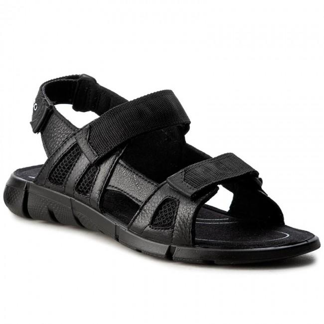 cad035d9a Sandals ECCO - Intrinsic Sandal 70555351052 Black Black - Sandals ...