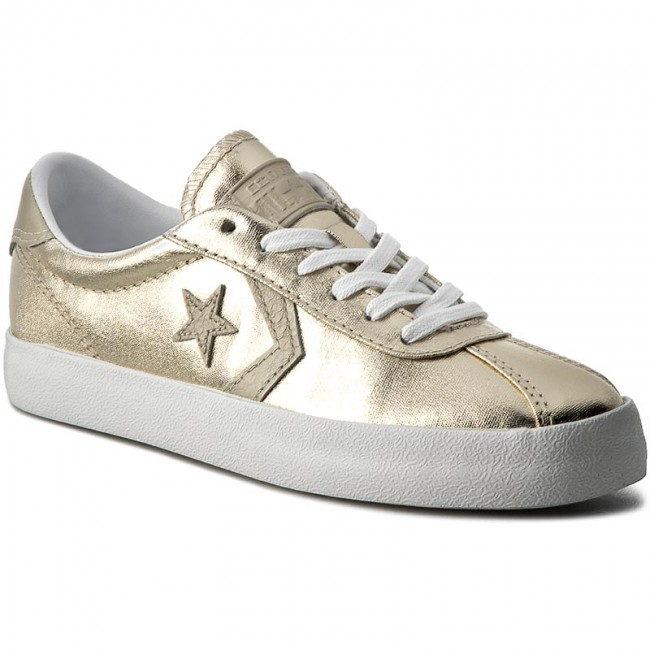 b622303e10 Sneakers CONVERSE - Breakpoint Ox 555948C Light Gold White White ...