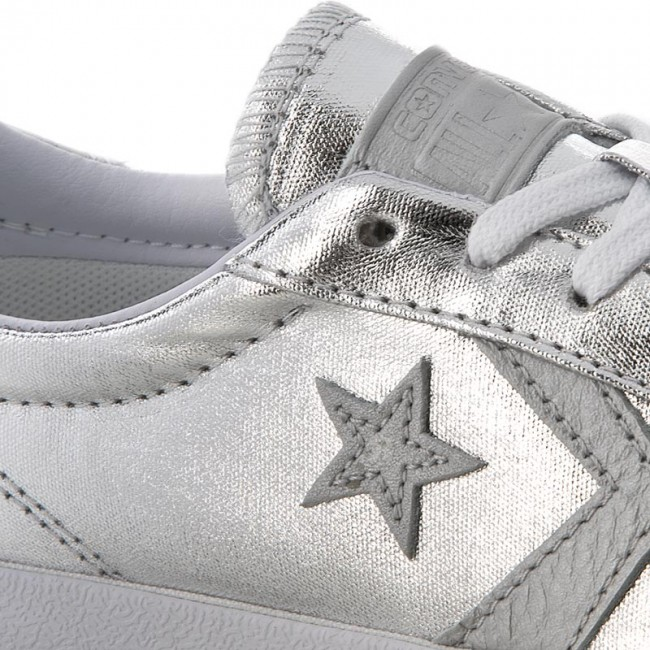e75d6dced050d Sneakers CONVERSE - Breakpoint Ox 555949C Pure Silver White White ...